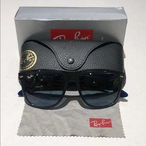 Ray-Ban men's black N blue sunglasses RB4147